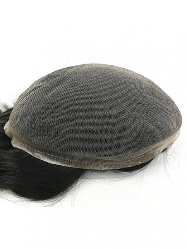 """10"""" X 8"""" Gerade Haarteile Für Männer"""