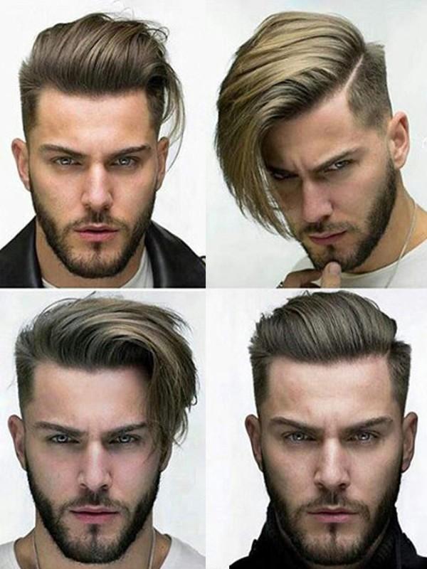 Dreambeauty Haarteile Für Männer Echthaar 10×8 Inch