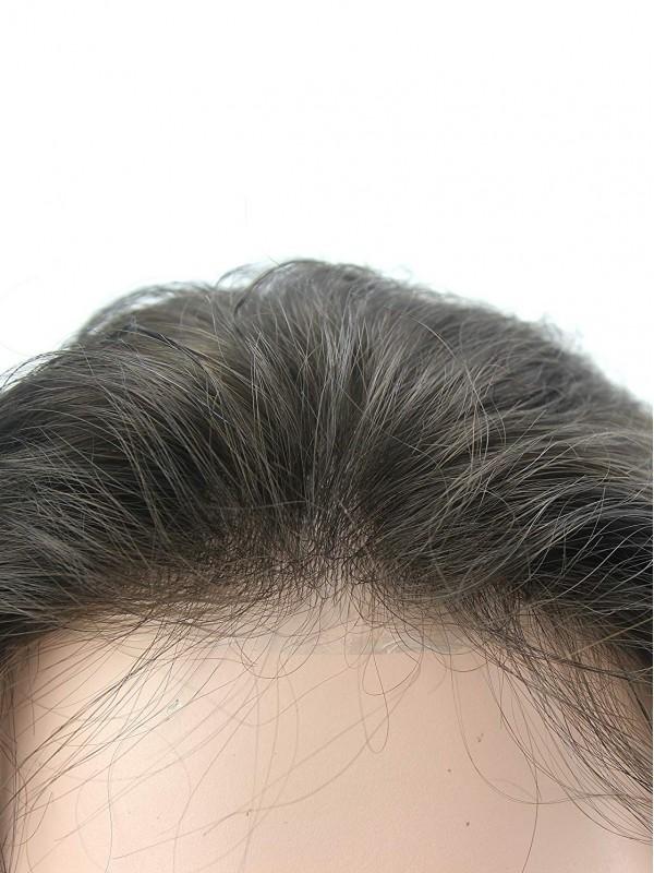 Männer Toupet Haare Replace Männert Farbe