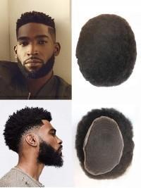 Afro Toupet Haare Männert Haare System