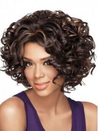 Afro-Hair Lockig Kurz Perücken