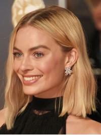 Blond Mittel Wellig Perücken