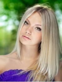 Blond Gerade Perücken