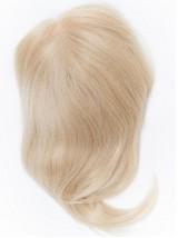 Gerade Blond Echthaar Mono Haarteile