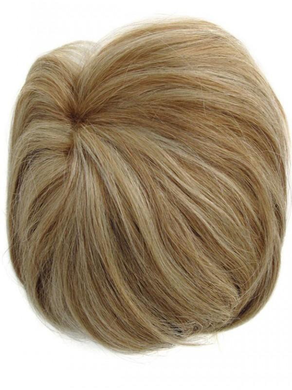 Blond Echthaar Hinzufügung Mono Top Wiglet