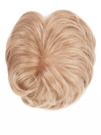 Blond Monofilament Top Haarteile