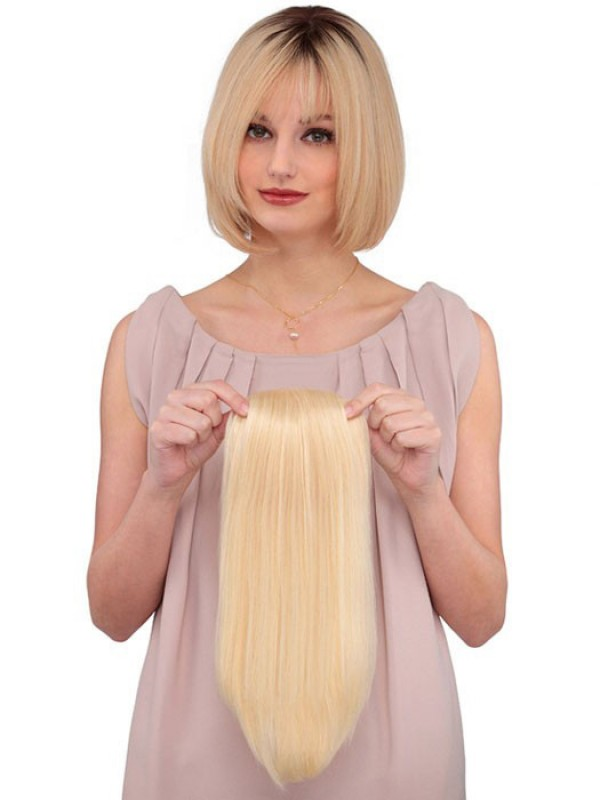 Clip In Blond Echthaar Haarteile
