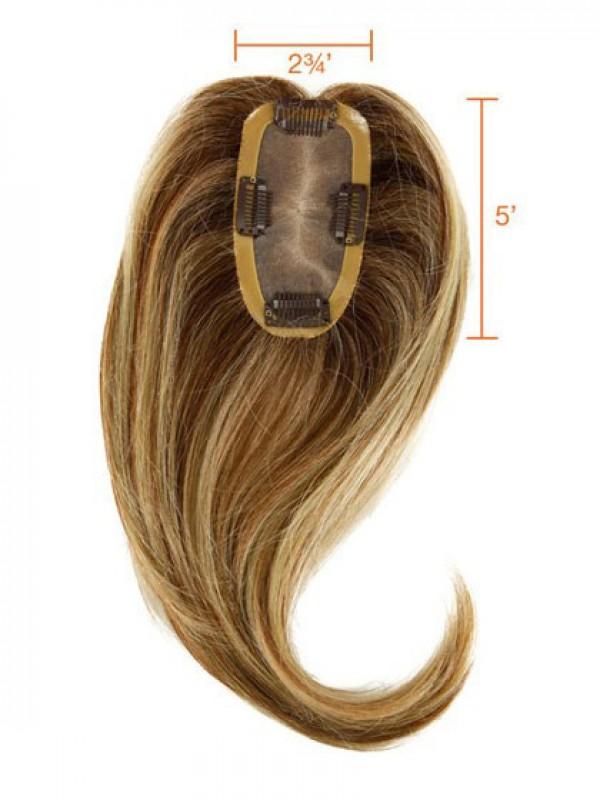 Able Wellig Auburn Echthaar Mono Haarteile