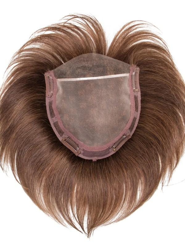 Kurz Gerade 100% Echthaar Mono Haarteile