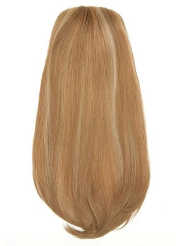 Blond Lang Echthaar Haarteile