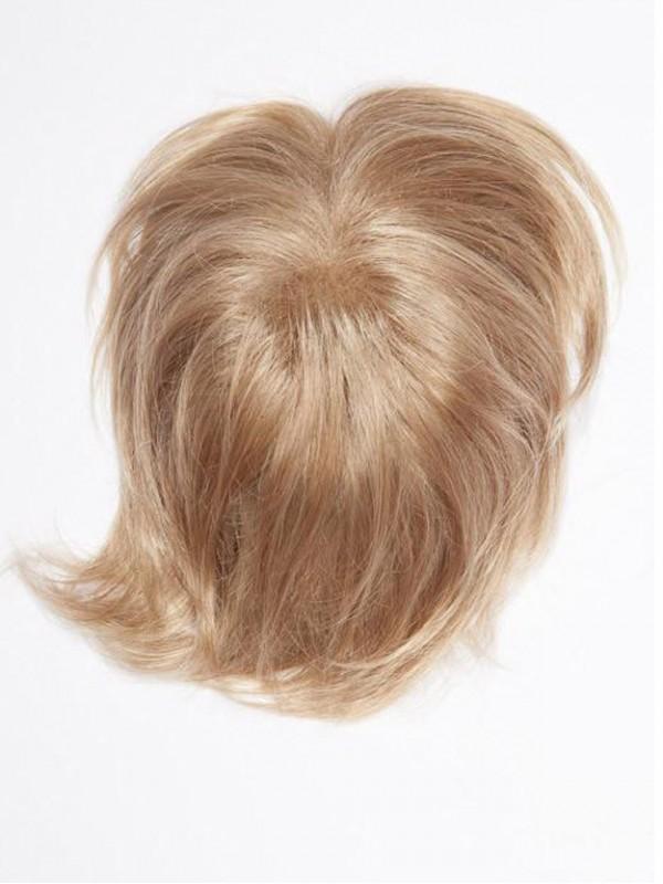 Kurz Blond Echthaar Top Haarteile